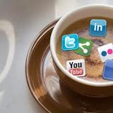Taza de café social