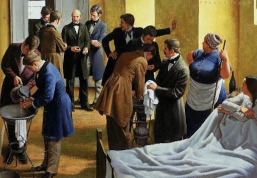 Semmelweis y el lavado de manos