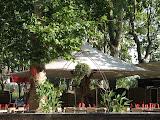 Restaurant Le Sampa à Montauban : la terrasse d'été