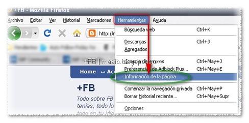 Desbloquar Imágenes Firefox