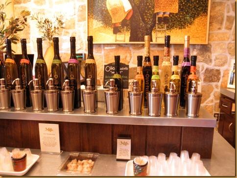 Oil Tasting Bar
