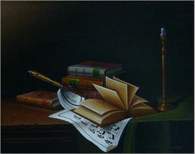 Libros con Velas