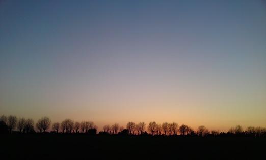 Contrail Free Sky