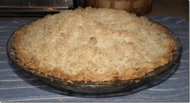 Dutch Apple Pie 3-14-11