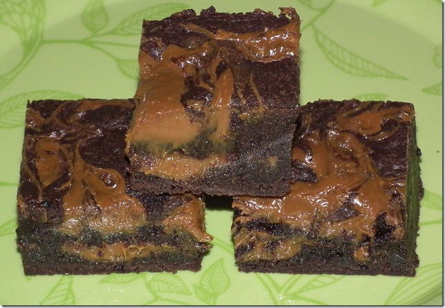 DL's Dulce de leche Brownies 5-17-11