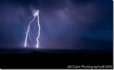 Lightening - Death Valley