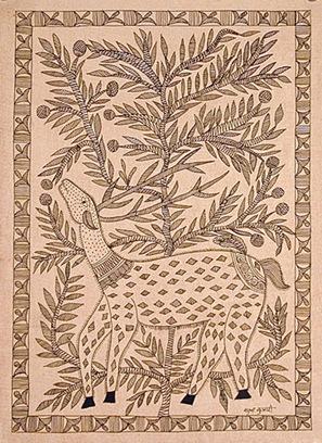 Sudha Kumari-DeerInTheForest