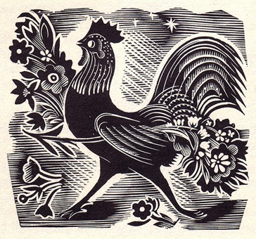 John O'Connor - Striding Cockerel