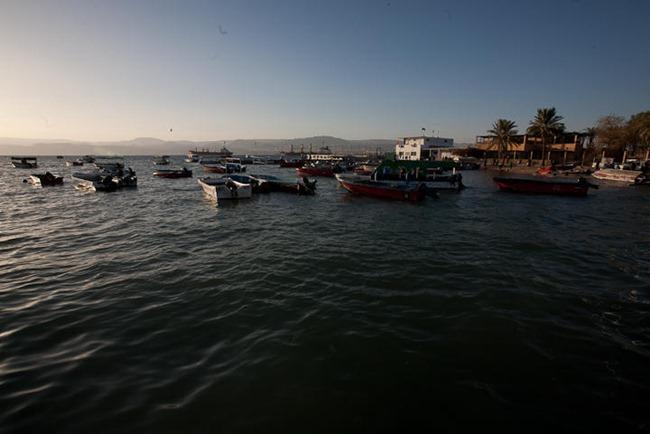 Boats in Aqaba Jordan