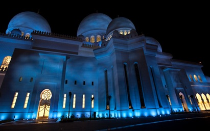 Grand Mosque at Night  (6 of 22)