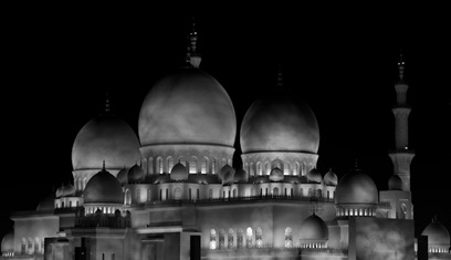 Grand Mosque at Night  (5 of 22)