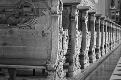 Innsbruck Church Pews