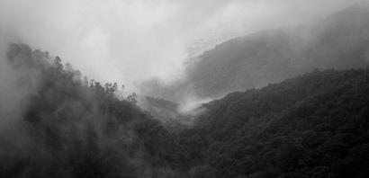 Caracas in the Fog from The Avila - 1