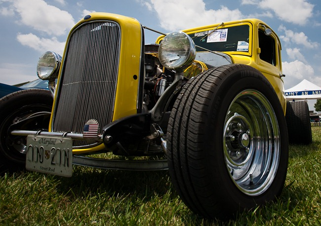 Hot Rod at Saint Mary's County Crab Festival-1