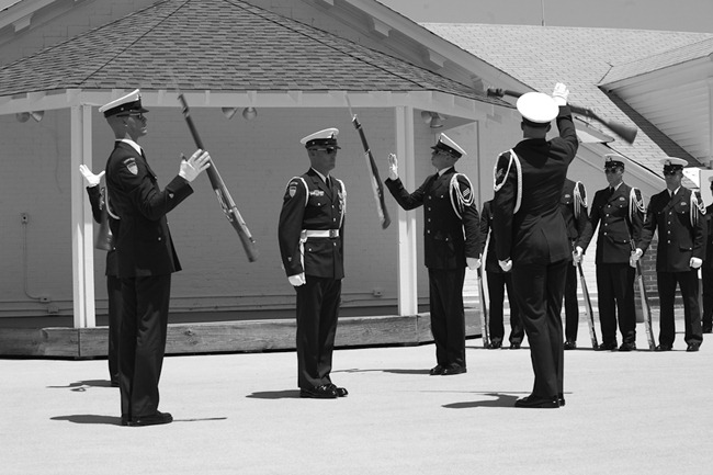 Coast Guard Silent Drill Team-11