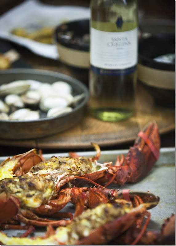 2009 Santa Crisitina Pino Grigio with Lobster