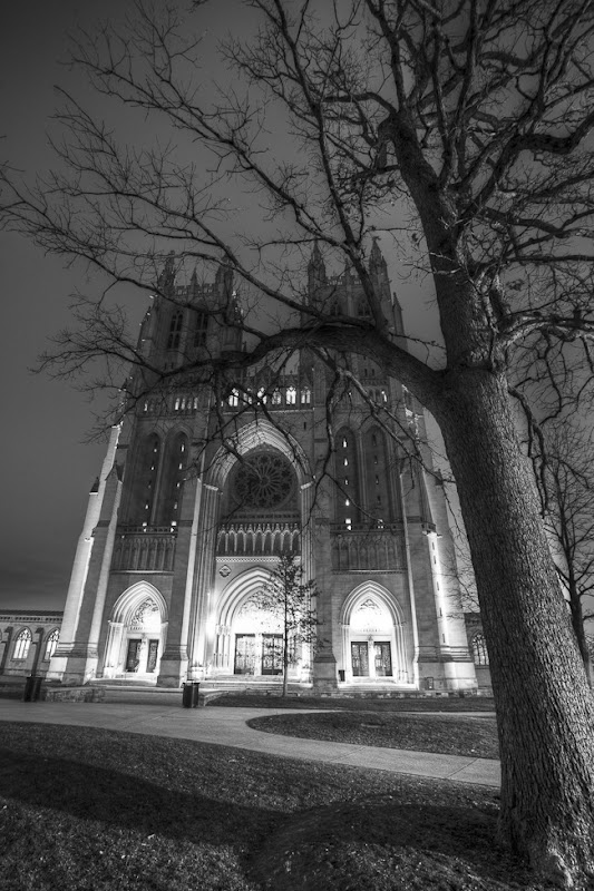 National Cathedral at Night-1
