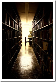 Uris Libary Stacks