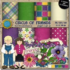 Preview for Circle of Friends 1 - Let Me Scrapbook
