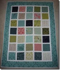 vintage squares quilt