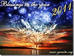 Blessings in the year 2011