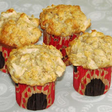 Banana Apple and Oatmeal Muffins
