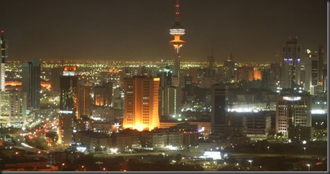Kuwait_city_at_night