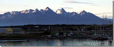 morning in Ushuaia