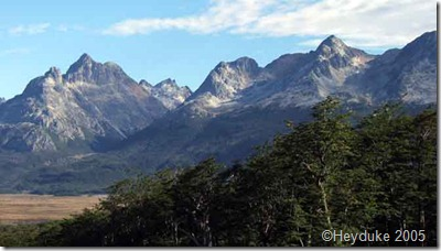 scenery in Ushuaia
