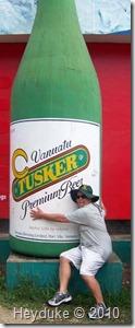 Vanuatu Tusker beer