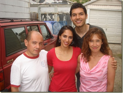 Jorge and his sister Luz with Shephali and I