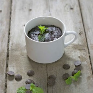 Thin Mint Girl Scout Cookie Mug Cake