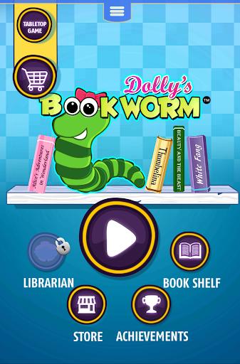 Dollys Bookworm Puzzle - screenshot
