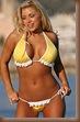 bikini babes 2009 Yellow Polka Dot Bikini