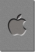 iPhone Apple Logo Wallpaper 320x480 8 unique cool wallpapers