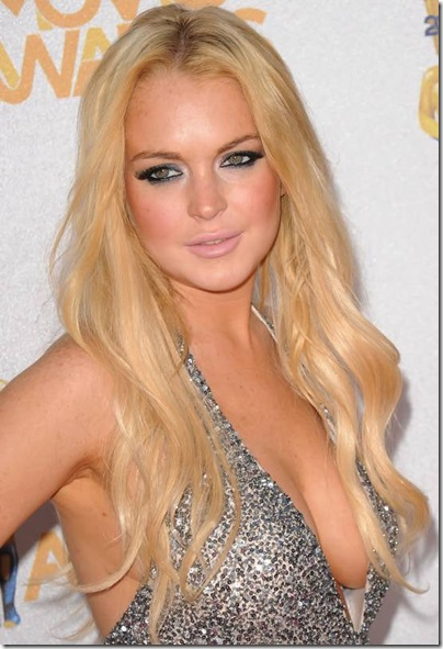 Lindsay Lohan 2010 MTV Movie Awards