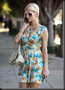 Paris Hilton Cleavage Candids in Los Angeles 13
