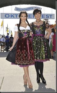 Kim Kardashian in Munich at Oktoberfest hottest cleavage 6