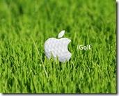 Apple Golf 1280x1024 advertising wallpaper