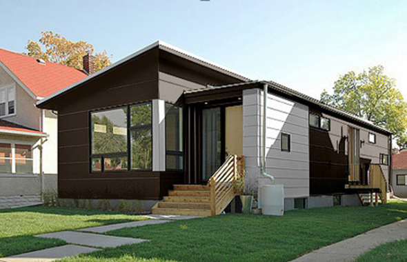 Small Prefab Home – modern weeHouse makes a big impression