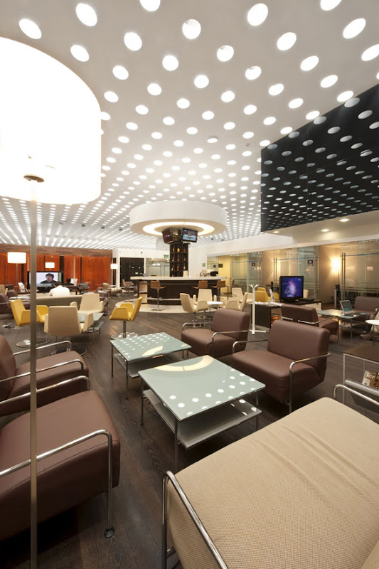 lighting fixtures with lounge interior decor