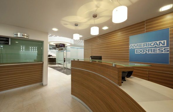modern receptionist interior decor design