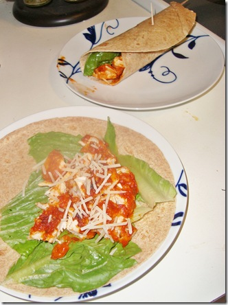 chickenparmwraps