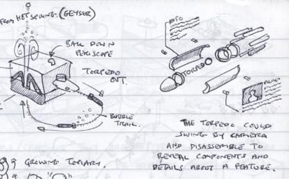 torpedo sketch