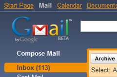 Gmail theme