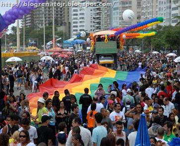 Parada Gay Rio (Foto: Alexandre Durão/G1)