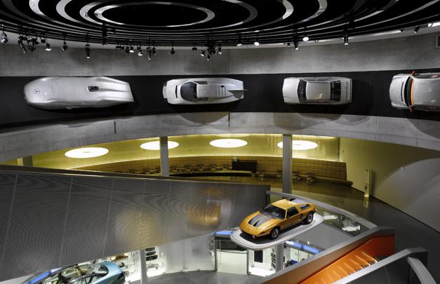 Imagen El Museo de la Mercedes Benz