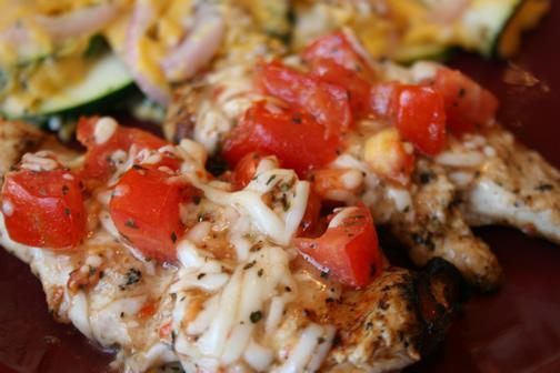 What's for Dinner?: Grilled Bruschetta Chicken