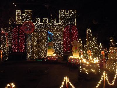the evolution of Leni: Christmas Tree Lane - Fresno, Ca