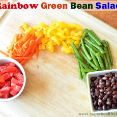 Rainbow Green Bean Salad